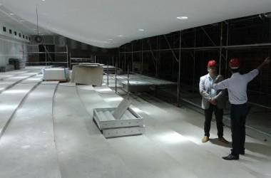 Centro de Convenções de João Pessoa recebe serviços de manutenção