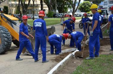 Prefeitura inicia obras de revitalização da Praça da Independência
