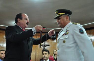 Comandante geral do BPTran-PB recebe honraria na CMJP