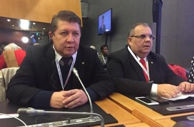 Na Suíça, Rômulo discute comércio internacional em Fórum da OMC