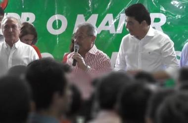 Maranhão e Temer consolidam candidatura do PMDB em João Pessoa