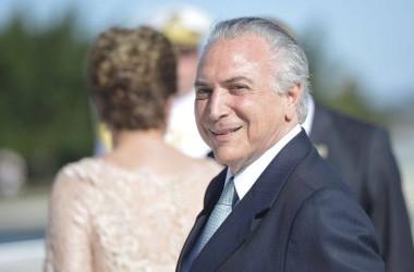 Michel Temer toma posse como presidente