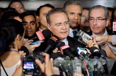 Renan tenta votação relâmpago, mas plenário rejeita votação para PL da corrupção