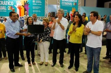 Gervásio acompanha visita do governador a obras e participa de reunião do ODE