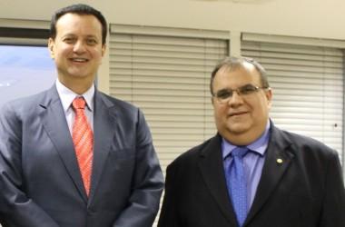 Rômulo recebe Kassab e ministro libera migração de rádios AM para FM na Paraíba