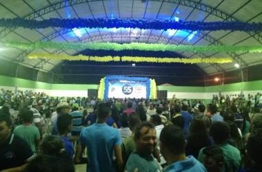 Rômulo Gouveia participa de convenções em seis cidades e PSD homologa candidatos a prefeito