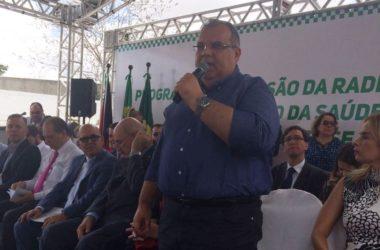 Rômulo destaca importância de equipamento entregue pelo Ministério da Saúde em CG