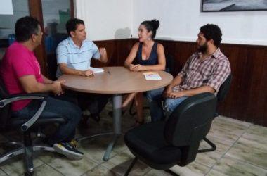 Funjope recebe representante do MinC para tratar de projetos e Pontos de Cultura