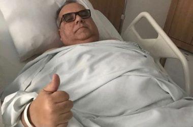 Deputado Rômulo Gouveia passa bem, após cirurgia