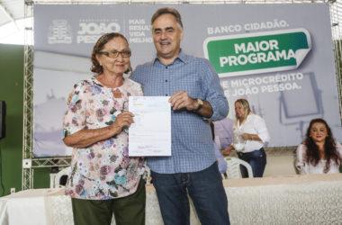 Cartaxo libera R$ 3 milhões em microcrédito e investe em mais de 500 microempreendedores
