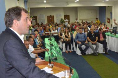 Gervásio participa de solenidade na Câmara de Cajazeiras