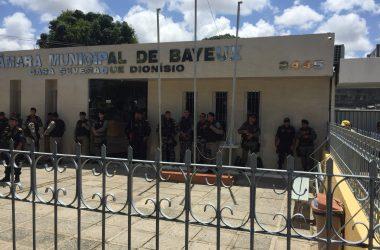 Placar: veja os vereadores que devem votar contra e a favor de Berg Lima em Bayeux