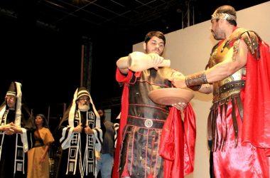 'Páscoa de Todos os Povos' é tema do novo espetáculo no Centro de Convenções Cidade Viva