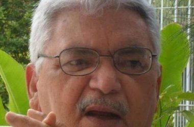 Morre pai do vereador Bosquinho; corpo é velado no Parque das Arcácias