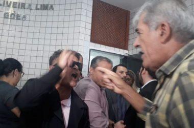 Veja os vídeos da confusão entre vereadores de Cabedelo