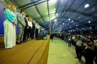 Políticos participam da abertura do Encontro para Consciência Cristã
