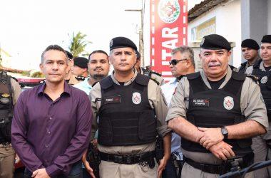 Parceria da Prefeitura de Santa Rita e PM reabre posto policial em Bebelândia
