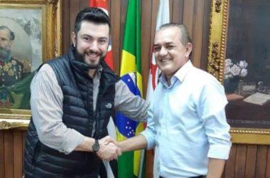 João Corujinha viaja a São Paulo e se encontra com chefe do Legislativo da capital paulista