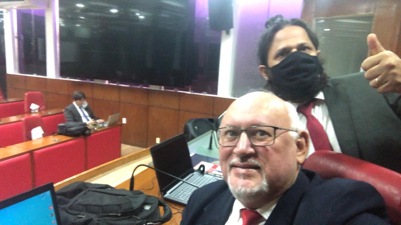 Vereadores vão para o plenário e solicitam sessões presenciais em João Pessoa